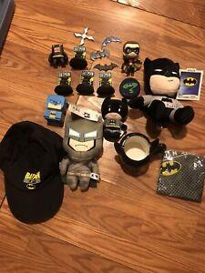 Lot Of Batman Plush Memorabilia Merch DC Comics Robin