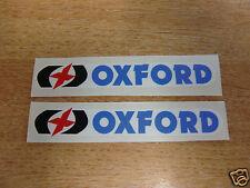 2x Oxford stickers/decals 200mm x 30mm