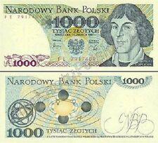 1000 Zlotych-Billete De Polonia-Mint Unc condición Zloty Polaco
