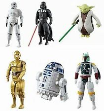 Star Wars EGG Force - Darth Vader, Storm Trooper, R2-D2, C3PO - 6 pcs/figure