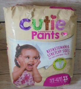 Cutie Pants Toddler Training Pants 3T to 4T 32-40 lbs Pack of 23 underwear New