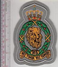 Netherlands Royal  Air Force 315th Fighter Squadron Per Sapientiam Efficiens et