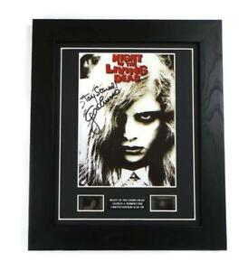 GEORGE ROMERO Signed PREPRINT + NIGHT OF THE LIVING RARE FILM CELL ZOMBIE GIFTS