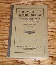 1931 Chevrolet Car Truck Repair Shop Service Manual 31 Chevy