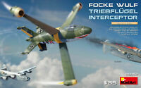 Miniart 1:35 scale model kit - Focke-Wulf Triebflugel Interceptor MIN40002
