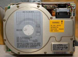 Vintage NEC D5126 20MB MFM interface Hard Drive 8216