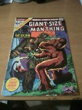 Giant Size Man Thing!1,2,3,4,5!!