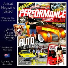 Performance Garage Issue 27 Bass Coast Car And Bike Show BT 1 Ex Chaser Tributes