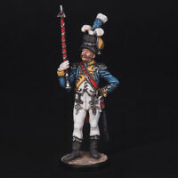 Tin Soldier, Drum Major by the Dutch Grenadiers, 1810-11, Napoleonic 54 mm