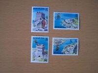 BERMUDA 1982,HISTORIC BERMUDA FORTS,4VALS COMPLETE SET,U/MINT.