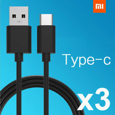 3x USB-C USB TYPE C DATA CHARGE CHARGING CABLE FOR HTC Huawei P9 P10 LG OnePlus