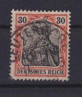 DR 89 II y Germania 30 Pfg. postfrisch orangeweiß geprüft (et53)