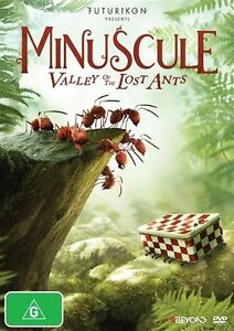 Minuscule - The Valley Of The Lost Ants (DVD, 2014) Australian stock