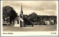 Elend Sachsen-Anhalt Ansichtskarte 1939 Oberharz Partie an der Kirche ungelaufen