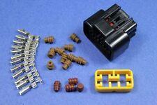 8 pins Sealed Waterproof Connector ATV Socket Plug 1kit Scooter ECU CDI