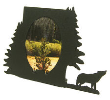 """Wolf Oval Picture Frame 3.5""""x5"""" - 3""""x5"""" V"""