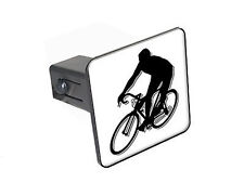 "Cycling Cycle Biking - 1 1/4"" 1.25"" Trailer Hitch Cover Plug Insert"