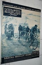 MIROIR SPRINT 17/07 1948 N° SPECIAL TOUR FRANCE CYCLISME GINO BARTALI GALIBIER