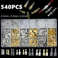 100 St Kabelschuh Flachstecker 6,3mm 90° abgewinkelt unisoliert Flachsteckhülsen