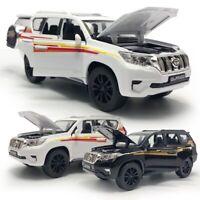 1:32 Toyota Land Cruiser Prado SUV Model Car Diecast Toy Vehicle Pull Back Gift