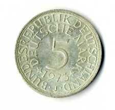 Moneda Alemania 1973 J 5 marcos plata .625 silver coin Deutsche Marck