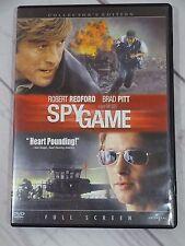 Spy Game (DVD, 2002, Full Frame Collectors Edition) - V62
