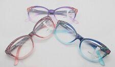 Progressive multifocal reading glasses cat's eye Frames unisex red blue purple