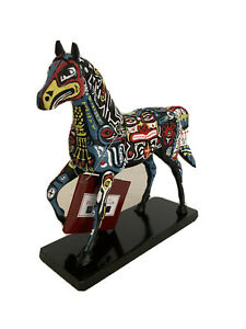 Trail of The Painted Ponies-Spirit Of Northwest. 1st Edition. Retired &Rare