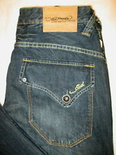 Ed Hardy by Christian AudigierFlap Pockets Mens Jeans Blue Size 32 x 32 New