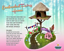 Miniature Fairy Garden Kit Terrarium Doll House DIY Accessories Decor