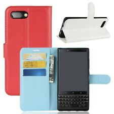 Case Protecor For Blackberry KEYone2 Magnetic Flip Leather Wallet Card Ho ODU