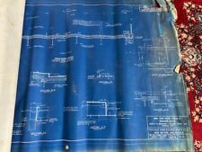 1956 New York State Thruway Highway Rt 9 Blueprints Architectural Rensselaer Co