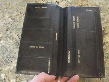 passport holder vintage ticket wallet document organizer vise cards paperwork