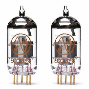 2x ECC83S Gold Pin JJ-Electronic Röhre Pro match DUETT PAAR NEU tube MATCHED