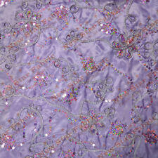 Lilac Sequin Ribbon Cord Taffeta 983 Fabric 58 inches width sold by the yard