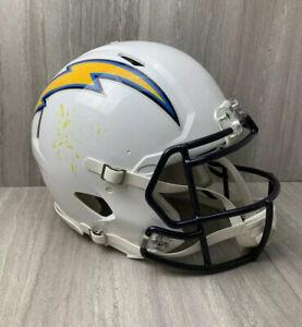 2014 San Diego Chargers Game Used Helmet Worn Issued Los Angeles NFL Football