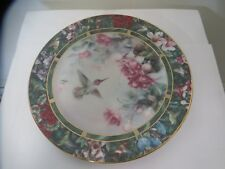 Lena Liu's The Anna's Hummingbird Plate 2nd Plate Limited Edition 1992
