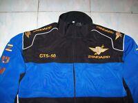 NEU ZÜNDAPP GTS 50 Oldtimer Faan-Jacke schwarz blau veste jacket jakka jas