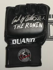 Carlos Newton Signed Official Ouano MMA Fight Glove BAS Beckett COA Pride FC UFC