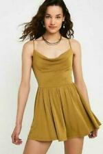 Urban Outfitters Dark Mustard  Playsuit size M new with tag RRP £42 #11