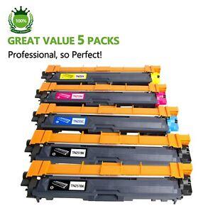 5 x TN251 TN255 Toner for Brother MFC9330CDW MFC9335CDW HL3150CDN HL3170CDW