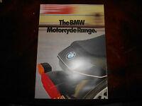 NOS BMW OEM 1981 R100 R80 RT RS LS ST G/S R65 Brochure