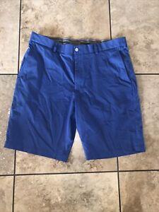 Men's Walter Hagen Blue Shorts-size 38