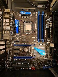 Intel Core i5 2500k CPU + MSI P67A-GD53 (B3) Motherboard Bundle