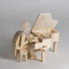 Timberkits pianista Hazlo tú mismo Movimiento De Madera Modelo Kit