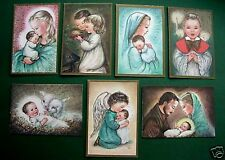 LOVELY GROUP OF VINTAGE XMAS GREETING CARDS ~ CHARLOT BYJ, BYI