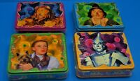 Wizard Of Oz Mini Lunch Box Candy Tins Sealed Rare