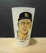 1972 7-11 Slurpee Cup DAVE ROBERTS San Diego Padres 7 Eleven Excellent