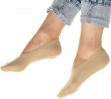 Socks for Flats Women No Show Heels Boat Soft Low Cut Liner Non Slip Invisible