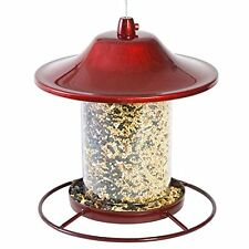 Perky-Pet 312R Red Sparkle Panorama Bird Feeder, New, Free Shipping